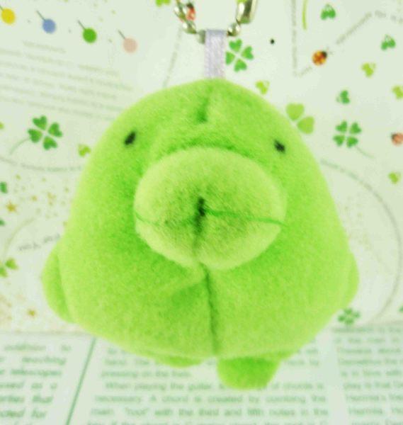 【震撼精品百貨】寵物機~絨毛鎖圈-綠海豚