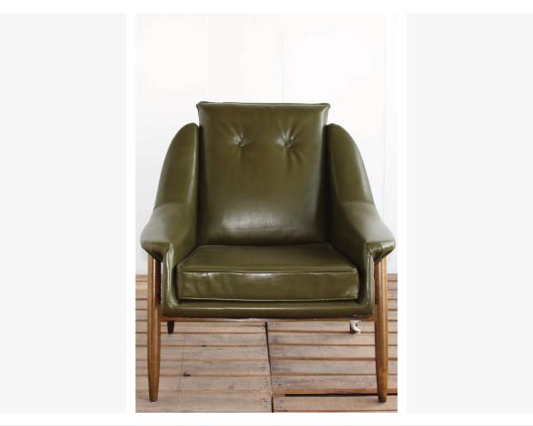 【YUDA】1960年代設計 LOBBY CHAIR 單人休閒椅 沙發-SO006-1