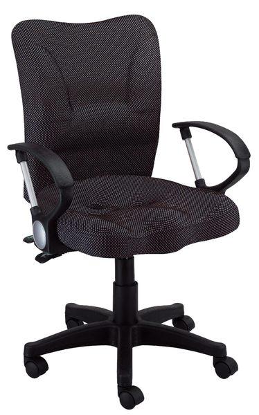 【森可家居】氣壓升降無段傾仰鎖定椅 7JX288-5