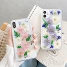 飛燕花 永生真花 滴膠手機殼 防摔殼 iPhone 12 11 Pro Max XR Xs 7/8 SE2 蘋果 手機殼