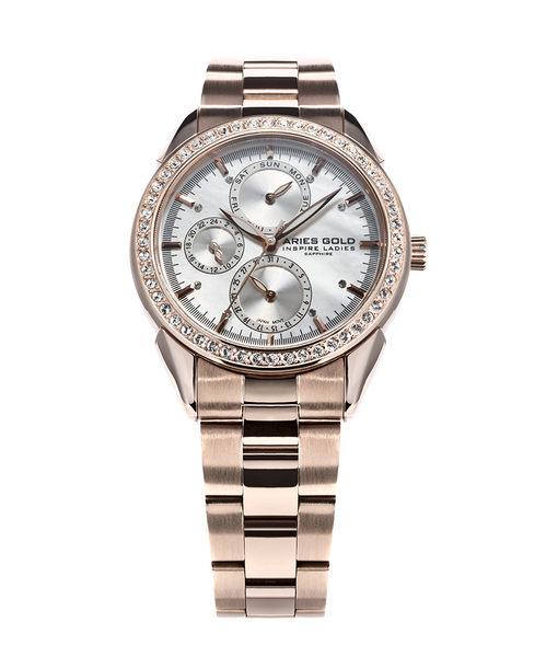 ★Aries Gold★-雅力士手錶-KENSINGTON-L 1156A RD-MOP-錶現精品公司-原廠公司貨