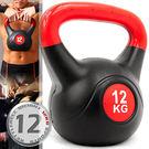 KettleBell重力12公斤壺鈴(26.4磅)12KG壺鈴拉環啞鈴搖擺鈴舉重量訓練運動健身器材推薦哪裡買