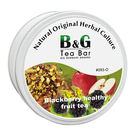 【德國農莊 B&G Tea Bar】黑莓健康水果茶 圓鐵罐 (50g)