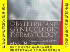 二手書博民逛書店Obstetric罕見and Gynecologic Derma