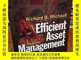 二手書博民逛書店Efficient罕見Asset Management: A P