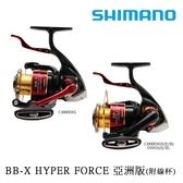 漁拓釣具 SHIMANO 19 BBX HYPER FORCE C3000DXG S L 雙線杯 (捲線器)
