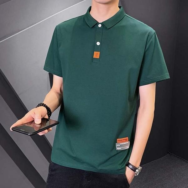 【型男精選任搭2件$699】短袖POLO衫簡約設計款素面男款POLO衫