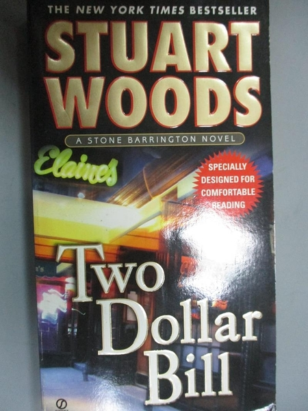 【書寶二手書T6/原文小說_HOB】Two Dollar Bill_Woods, Stuart