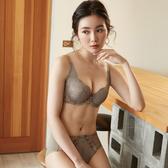 【曼黛瑪璉】Hibra大波內衣  F-H罩杯(天然灰)