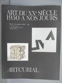 【書寶二手書T4/收藏_QFZ】ARTCURIAL_Art Du XX Sieclf…2018/10/16