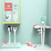 thanksbaby兒童筷子訓練筷寶寶一段學習筷健康環保練習筷餐具套裝【果果新品】