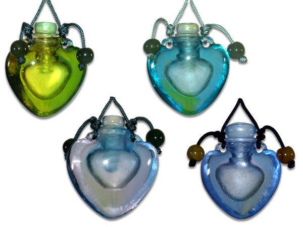 鹿港窯~開運琉璃項鍊~香精、香水瓶◆附精美包裝◆免運費送到家