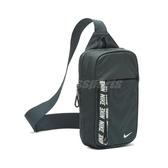 Nike 斜背包 NSW Essentials Hip Pack 綠 白 男女款 運動休閒 【ACS】 BA6144-364