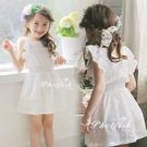 童裙 燙花蕾絲連身洋裝 連身裙 橘魔法 Baby magic 現貨 兒童 童裝