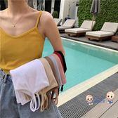 背心 夏季網紅爆款韓版無袖內搭打底針織吊帶性感小背心女外穿上衣 多色