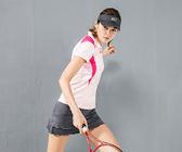 【MJ3】撞色拼接短袖吸排涼感POLO衫-女(三色可選) 短袖 排汗衫 休閒 運動 網球 高爾夫 台灣製