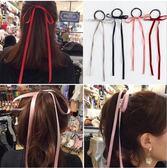 新款 歐美風 布料 蝴蝶結 鍛帶 髮繩 韓國 百搭 髮圈 頭繩 皮筋 韓版 髮飾
