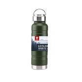 AWANA雙層不鏽鋼保溫手提全鋼運動瓶900ml-霧綠