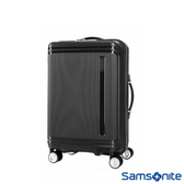 Samsonite新秀麗 20吋Hartlan 高質感防潑水PP飛機輪TSA登機箱(黑)