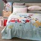 HOLA 迪士尼系列 法蘭絨收納毯 米奇款 單人尺寸 Mickey