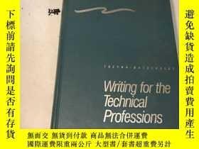 二手書博民逛書店Writing罕見for the Technical Profe