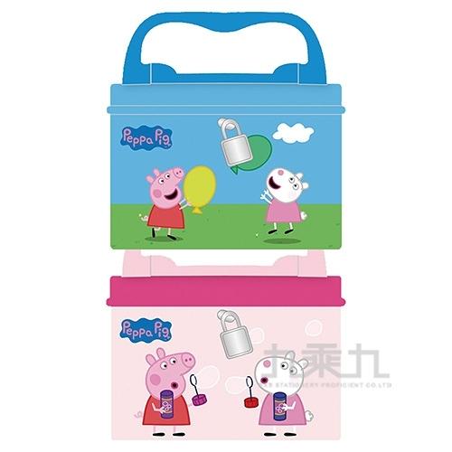 粉紅豬小妹手提方型附鎖存錢筒(2)