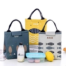 保溫袋 飯盒包手提包防水女包手提便當包飯盒袋便當盒帶飯包帆布保溫袋子