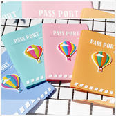 護照夾-立體熱氣球粉彩果凍護照套-共4色-A09090145-天藍小舖