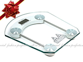 【GL102】強化玻璃平台方形/圓形電子體重計(8mm加厚款)體重控制/減肥健身/送電池3顆 EZGO商城