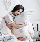 棉質印花卡通枕套一對裝全棉枕芯套子48*...