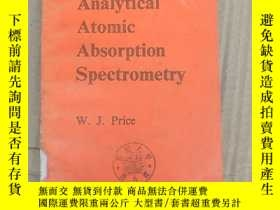 二手書博民逛書店analytical罕見atomic absorption spectrometry(P3659)Y17341