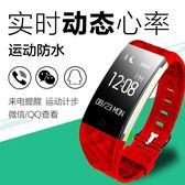 智慧手錶 智能手環S2心率健康監測信息同步顯示深度防水睡眠運動計步-小精靈生活館