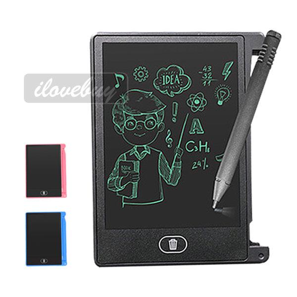 HSP84 4.4吋 電子紙 液晶手寫板 兒童繪畫 電子黑板 光能寫字板 手繪畫板 留言備忘 筆記本