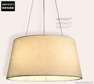 INPHIC- 北歐風格現代創意簡約臥室書房餐廳單頭木布藝燈罩個性吊燈-I款_S197C