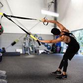 拉力器 懸掛式訓練帶拉力繩體能力量核心穩定鍛煉器阻力家用健身 綠光森林