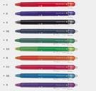 ◆ 寫錯字可擦除,筆尾的橡膠即可擦拭筆跡,不留痕跡不留屑! ◆ 請勿使用於重要文件及有價證券!!