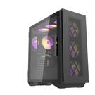 【鼎立資訊】darkFlash DLS480 ATX機箱-黑色(含風扇)