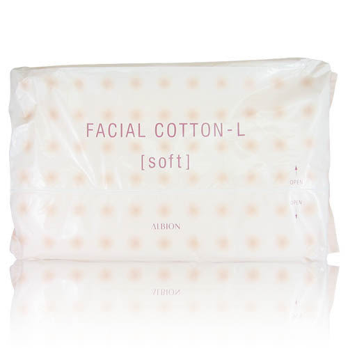 Albion 艾倫比亞 按摩化妝棉(120入)[Facial Cotton/清潔/卸妝/保養/濕敷推薦]【美麗購】