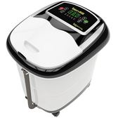 220V足浴盆全自動洗腳盆電動按摩加熱泡腳桶足療機家用恒溫深桶QM  晴光小語