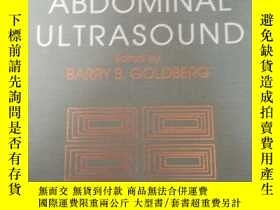 二手書博民逛書店TEXTBOOK罕見OF ABDOMINAL ULTRASOUN