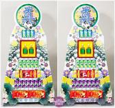 【大堂人本】JY25- 七層玻璃飲品、綜合食品罐頭塔(2入)