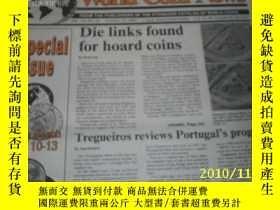 二手書博民逛書店World罕見Coin News(Vol.18,No.21)(O