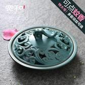 寬和香爐陶瓷家用臥室仿古特大號實用擺設室內創意日式現代蚊香爐 遇見生活