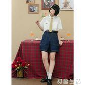 領帶omont蛋撻家 復古學院風簡約純色休閒黑色襯衫領帶女學生百搭春季 初語生活
