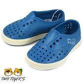 Native MILLER 藍色 防水 透氣 輕量 洞洞鞋 小童鞋 NO.R1592
