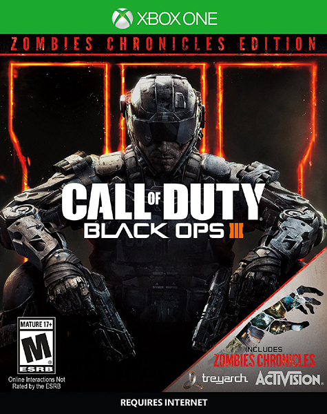 X1 Call of Duty Black Ops III Zombie Chronicles 決勝時刻:黑色行動 3 殭屍編年史(美版代購)