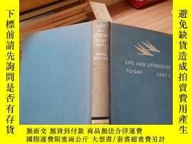 二手書博民逛書店LIFE罕見AND LITERATURE TO-DAY PARTY179226