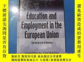 二手書博民逛書店Education罕見and Employment in the
