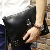 韓版男手拿包 手機零錢小包《印象精品》y383