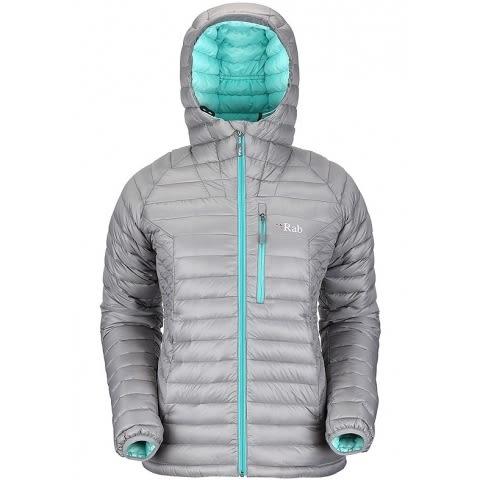 RAB 英國 | 女款 Microlight 保暖羽絨外套 | 秀山莊(QDA55)